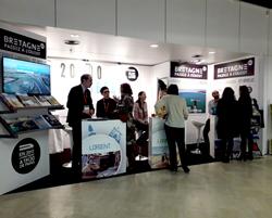 Saint-Brieuc, Lannion, Lorient au Salon des Entrepreneurs de Paris